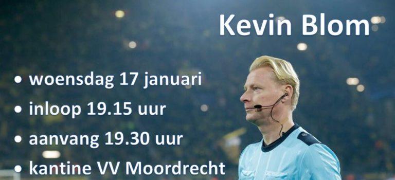 Scheidsrechters avond o.l.v. KNVB scheidsrechter Kevin Blom