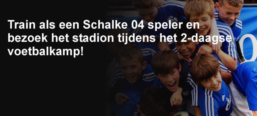 25 en 26 oktober wordt VV Moordrechtomgetoverd tot een FC Schalke 04-trainingslocatie. Ben jij erbij?