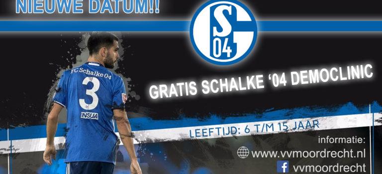 Nieuwe datum!! GRATIS FC Schalke 04 democlinic op 15 juni bij VVM!