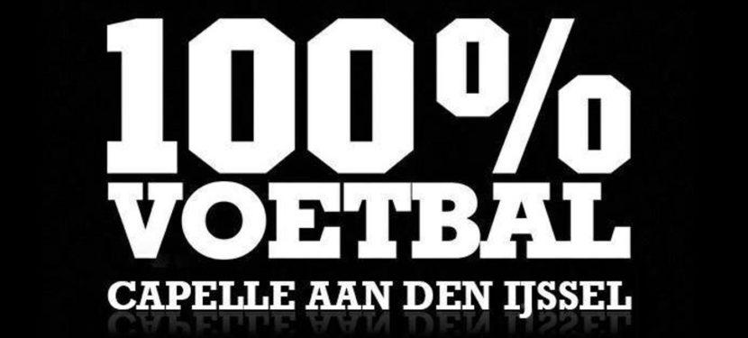 100% Voetbal 29 augustus bij VVM