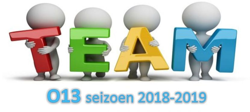 Teamindeling O13
