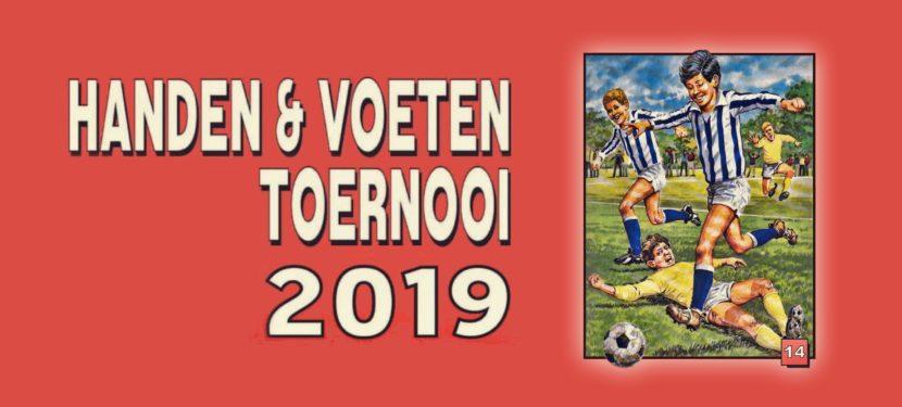 15 juni Handen & Voeten toernooi!
