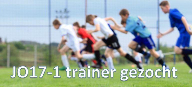 VV Moordrecht zoekt trainer JO17-1