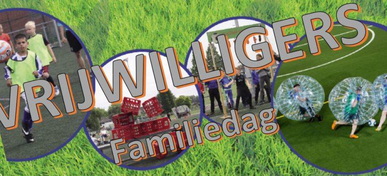 Inzet vrijwilligers tijdens de familiedag/pupillennacht