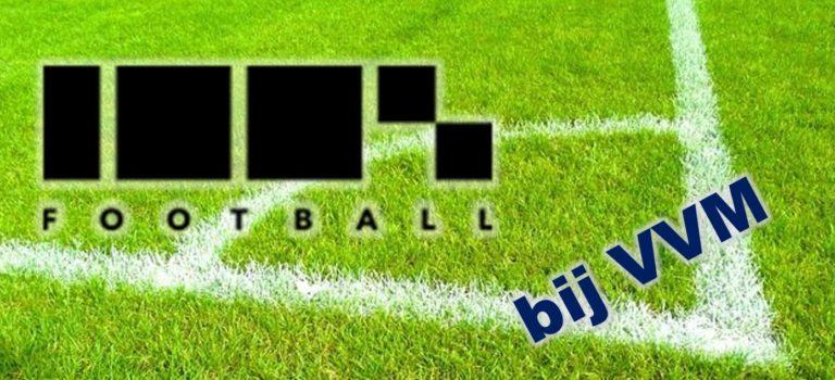 100% Football 26 augustus bij VVM