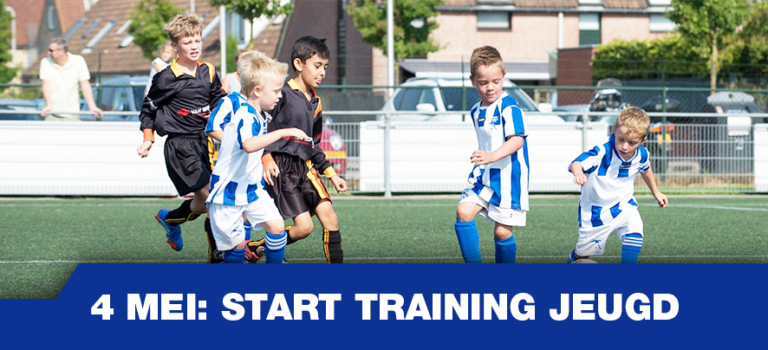 Start training jeugd