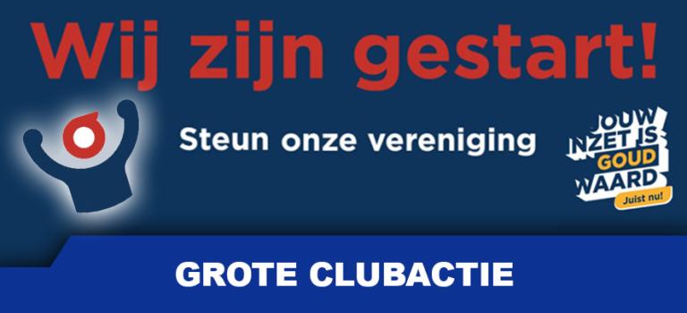 De Grote Clubactie is gestart!