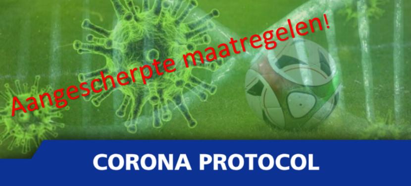 Aangescherpte Coronamaatregelen VVM: geen toeschouwers en kantine dicht!