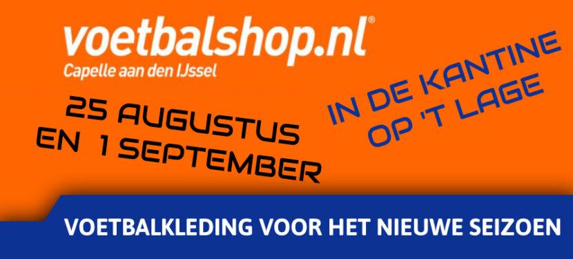 Voetbalshop.nl op 't Lage.