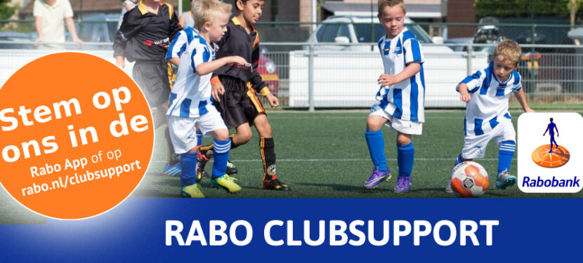 VV Moordrecht doet mee met Rabo ClubSupport 2021!