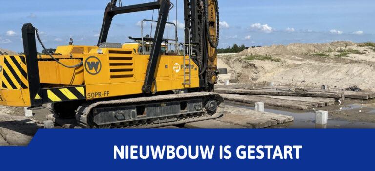 Nieuwbouw van onze kantine en de nieuwe velden zijn gestart!