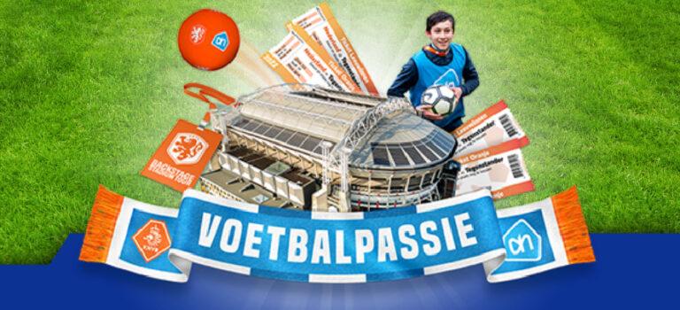 Activeer Voetbalpassie bij Albert Heijn en maak kans op prachtige prijzen!